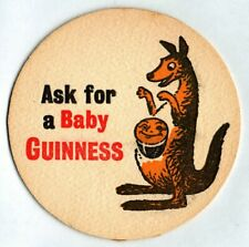 Guinness Brewery - Baby Guinness - old beer mat - see scans