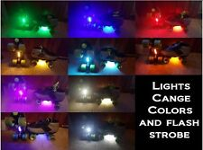 Multi Color Change LED Roller Skate Light w/Switch Board Scooter Inline bikes