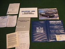 1995 Ford Fairmont Owners Manual + Associated Documents And Binder