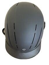 troxel adjustable matte black riding helmet
