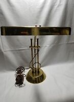 Vintage Brass Lamp Adjustable Piano Bankers Professional Desk Lamp Music Note