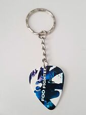 Foo Fighters guitar pick keyring
