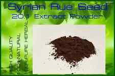 25 g / High Quality! Syrian Rue Seed (Peganum Harmala) 20:1 Extract Powder *#^