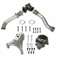 Turbo Pedestal Exhaust Housing Up Pipes For 99.5-03 Ford 7.3L Powerstroke Diesel