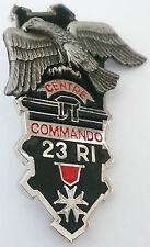 Brevet CENTRE COMMANDO  du 23°RI C.E.C CEC LES ROUSSES - Y.DELSART
