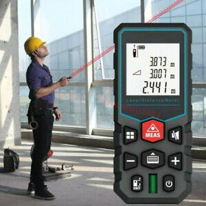 New X5 Laser Distance Meter Electronic Roulette Laser Digital Tape Range Finder
