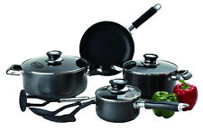10 Pc Healthy Non Stick Cookware Set – Gas & Induction Cookware Pans w/Glass Lid