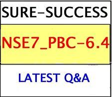 NSE7_PBC-6.4 EXAM Q&A - NSE 7 – Public Cloud Security 6.4 -LATEST
