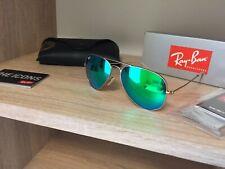 Sunglasses 3025 112 / 19  AVIATOR RAY BAN RB green Mirrored glasses