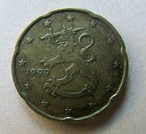 PIECE 20 cent  Euro FINLANDE de 1999