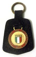 Portachiavi in pelle Medaglia smaltata CUSI Campionati Naz. Universitari 1959