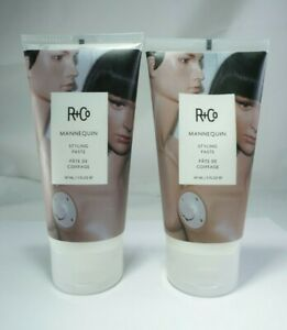 Set of 2 R+Co MANNEQUIN Styling Paste 5 fl oz  **BRAND NEW**