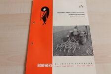 144453) Rabewerk Dreipunkt Vibrationseggen Prospekt 10/1961