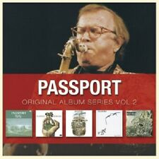 PASSPORT - ORIGINAL ALBUM SERIES VOL.2 5 CD NEW+