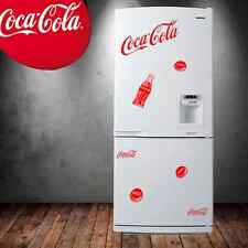 lot 7 stickers autocollant adhesif  coca cola deco cuisine frigo porte