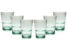 Bacardi Glas Gläser Tumbler Set mit Logo und Schriftzug geeicht 2/4cl - 6 Strüc