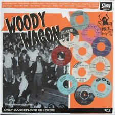 LP Woody Wagon Vol.3 ( Various Artists ) ROCKABILLY COMPS - Sleazy Records NEW