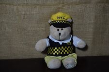 STARBUCKS NYC TAXI Cab Driver NEW YORK JOE BEARISTA BEAR 2005