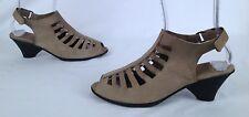 Arche 'Exor' Sandal - Sand- Size 9 US/ 40 EU - $345  (P22)