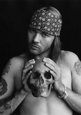AXL ROSE * Guns n Roses *  QUALITY CANVAS  PRINT