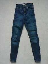 Topshop Jamie Jeans 25w With Zip Ankle