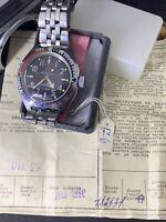 NEW! Watch  Vostok MILITARi KOMANDIRSKIE AMPHIBIAN ussr Russia  new 1990  #1420