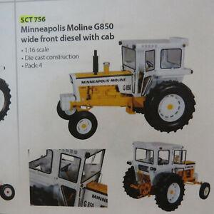 SpeCast Minnneapolis Moline G-850 Diesel Tractor 1/16  MM-SCT756-B4