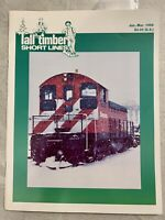 Tall Timber Short Lines #40, Jan - Mar 1995. Logging Tech, Track Plans, Scale Dr