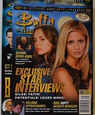 Buffy The Vampire Slayer Yearbook 2003 Magazine Magazine Étoile Interviews ZB146