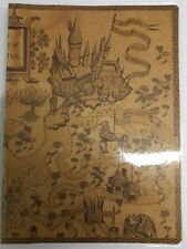 Brown diary Journal map design hermione Book Hogwarts Harry