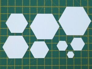 250 x Hexagon Paper Templates for EPP Patchwork~120gsm~Machine cut~Free P & P