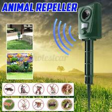 Animal Bird Repeller Battery Powered Outdoor Cat Dog Repellent Ultrasonic Garden