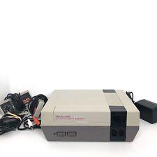 Vintage NES Nintendo Console Plus Games, 2 Controlers