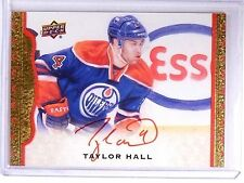 2014-15 UD Masterpieces Framed Red Cloth Taylor Hall Autograph #D06/30 #14 *6428