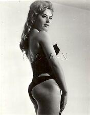 Original Vintage 1950s-60s Hautfarben Rp- Lang Haar Blond- Panties- Butt- Korset