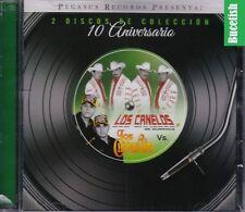 Los Canelos de Durango Vs Los Chavalones Lo Mejor 2CD New Nuevo Sealed