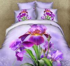 Set Letto Copri Piumone Lenzuolo Federe Copripiumone Duvet Cover Bed BED0042 P