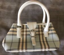 RARE Burberry Blue Nova Check Small Bag. 100% Authentic! Made In Italy.