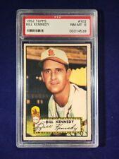 1952 Topps Bill Kennedy #102 PSA 8 Chicago White Sox