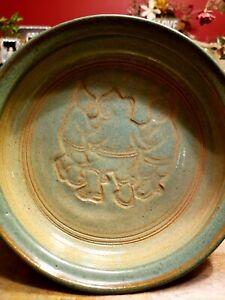 Rod Maxwell - Muir Pottery - Vintage Dish - Eskimos