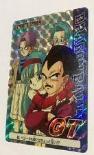 Carte dragon ball - card PP card prism soft  Japan N*42 Part Part 30 GT