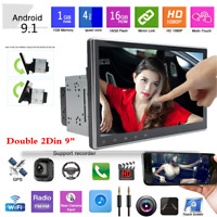 "9"" Android 9.1 Double 2Din Car Bluetooth Stereo Radio MP5 Player GPS Navigator"