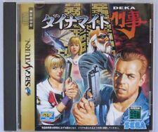 (Used) Sega Saturn Dynamite Deka [Japan Import]