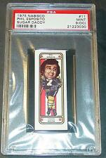 1975 NABISCO PHIL ESPOSITO SUGAR DADDY #11 PSA MINT 9 O/C SHARP POP 1