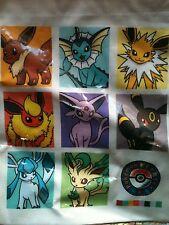 Pokemon Center Eevee Evolution Dice Bag Flareon Leafeon Vaporeon Espeon (plush