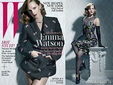 W Magazine June 2013,Emma Watson Harry Potter,Nadja Bender,Karlina Caune NEW