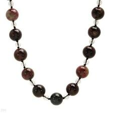 STUNNING SOLID 14K YELLOW GOLD GENUINE AGATE NECKLACE U$379