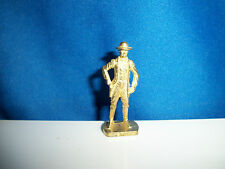 JIM BRIDGER Brass Gold Figure AMERICAN WILD WEST Kinder Surprise Metal Soldier