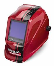 Lincoln Electric VIKING 3350 Code Red Welding Helmet with 4C Lens Technology ...