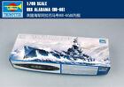 USS ALABAMA BB-60 1/700 ship Trumpeter model kit 05762
